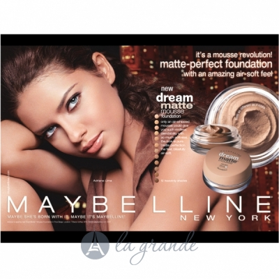 Maybelline Dream Matte Mousse Тональный мусс