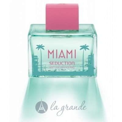 Antonio Banderas Miami Blue Seduction for Woman Туалетная вода