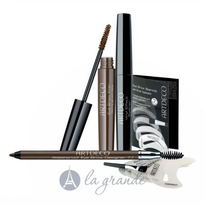 Artdeco Eye Brow Stencils Шаблоны для бровей